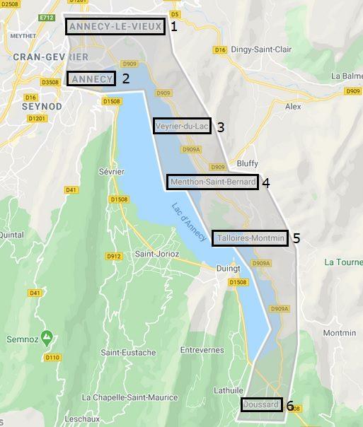 Zone livraison Nomad Bike Annecy