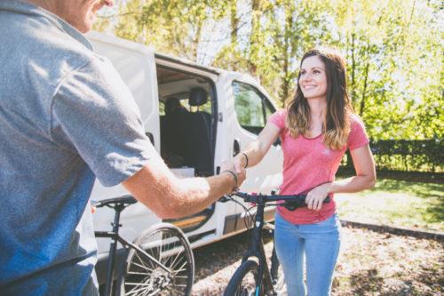 Livraison vélo à domicile Annecy Nomad Bike