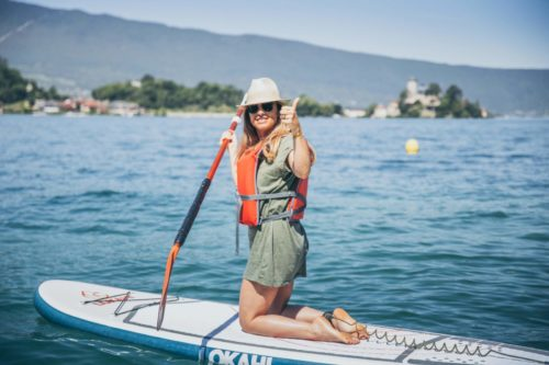 Paddle lac Annecy Angon