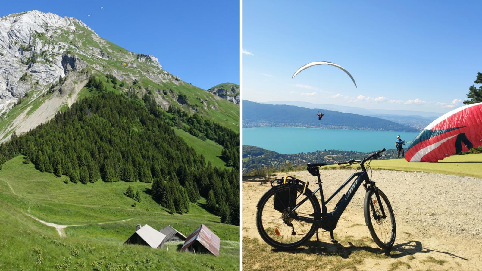 Haut de Talloires - Nomad Bike